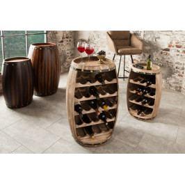 Bighome - Regál na víno CASK 80 cm - prírodná