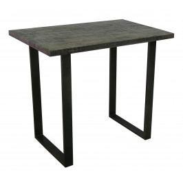 Bighome - Barový stôl IRONIC 120 cm - sivá
