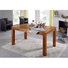 HONEY jedálenský stôl masívna akácia, medová