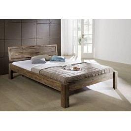 Sheesham posteľ 200x200, masívny palisander