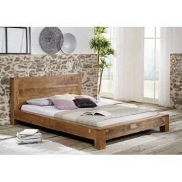 KOLINS posteľ akácia, medová 180x200 cm