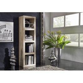 regál Maľovaný akáciový nábytok