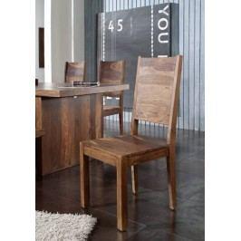 #112 Sheesham stolička, masívne palisandrové drevo