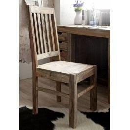 Sheesham stolička, masívne palisandrové drevo