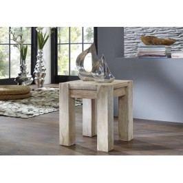 taburetka maľovaný akáciový nábytok
