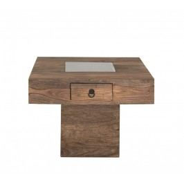 CASTLE konferenčný stolík olejovaný palisander