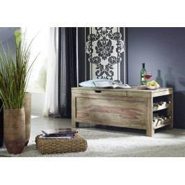 Sheesham  truhlica na víno, masívne palisandrové drevo