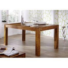 MUMBAJ jedálenský stôl akácia, medová 100x90cm