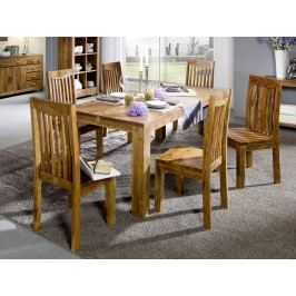 KOLINS jedálenský stôl akácia, medová 160x90 cm