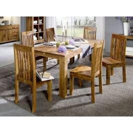 KOLINS jedálenský stôl akácia, medová 180x90 cm