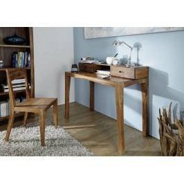 MODERNA písací stôl indický palisander