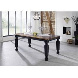 KOLONIAL jedálenský stôl 200x100cm lakovaný palisander