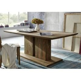 NATURAL stôl 235x100 prírodný olejovaný indický palisander