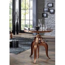 stôl #24, liatina a staré drevo