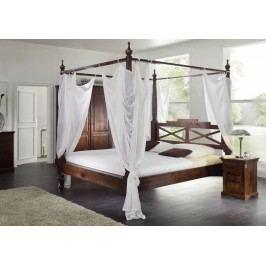 Koloniálna posteľ 140x200 masívny akáciový nábytok