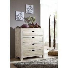 komoda maľovaný akáciový nábytok