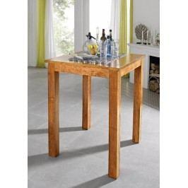 HONEY barový stôl masívna akácia, medová