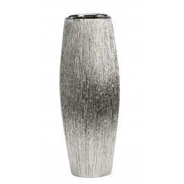 Dekoratívna váza MANNHEIN - strieborná
