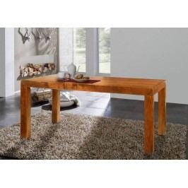 HONEY jedálenský stôl CUBUS masívna akácia, medová