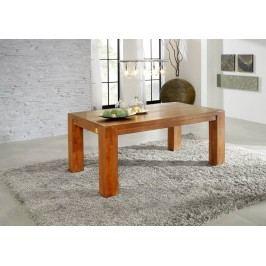 HONEY jedálenský stôl MAMMUT masívna akácia, medová