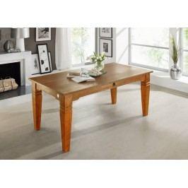 HONEY jedálenský stôl SUNO masívna akácia, medová