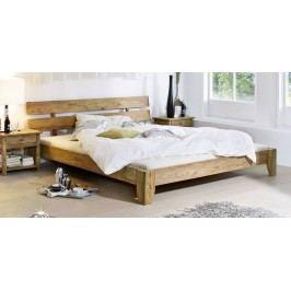 Masívny indický palisander, posteľ 200x200