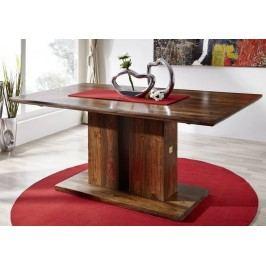 Masívny indický palisander, stôl 160x90