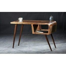 RETRO písací stôl staré lakované drevo