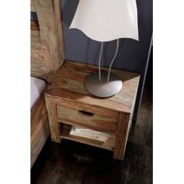 Nočný stolík, masívny palisander