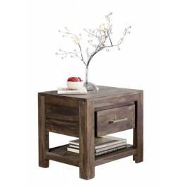 MONTANA Masívny nočný stolík, indický palisander