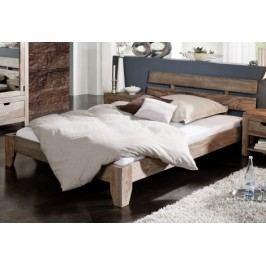 Masívna posteľ 160x200 indický palisander