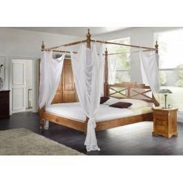 HONEY posteľ masívna akácia 140x200