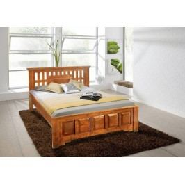 HONEY posteľ masívna akácia 160x200