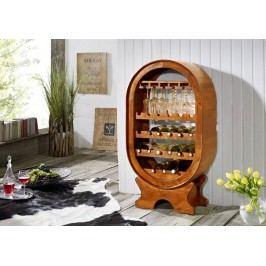 HONEY vínny regál masívna akácia