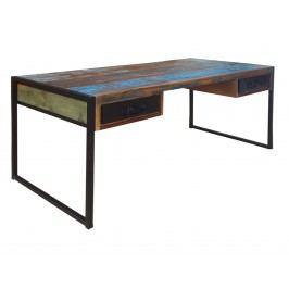 Písací stôl JAVA - hnedá
