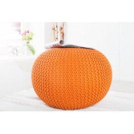 Sedací vak PUFI - oranžová
