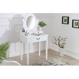 Toaletný stolík VENEZIE - biela
