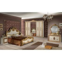 Spálňa ANITO - zlatá, béžová