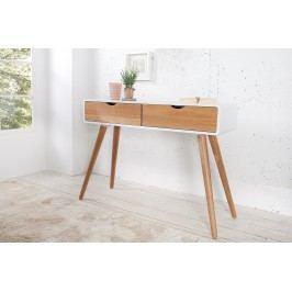 Toaletný stolík SCANIA MEISTER 100 cm - biela