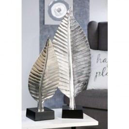 Ozdobná socha BLETT, 58 cm - strieborná