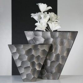 Váza NESTA, 30,50 cm - antracitová