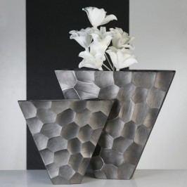 Váza NESTA, 40,50 cm - antracitová