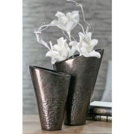 Váza COSTELO, 26 cm - hnedá