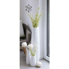 Váza CIRU, 34 cm - biela