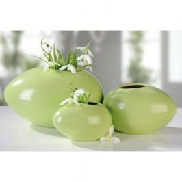 Váza KIOM, 17 cm - zelená