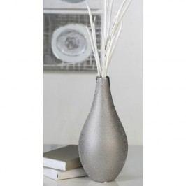 Váza RAIN, 35,50 cm - strieborná