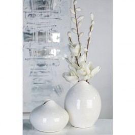 Váza VIEN, 26 cm - biela