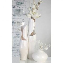 Váza VIEN, 50 cm - biela