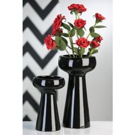 Váza CAMPA, 25 cm - čierna