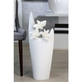 Váza ALO, 70 cm - biela